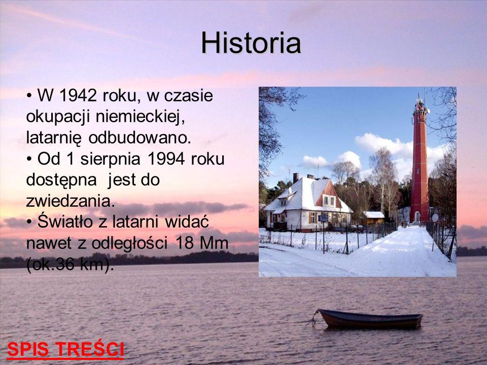 W 1942 roku, w czasie okupacji niemieckiej, latarnię odbudowano. Od 1 sierpnia 1994 roku dostępna jest do zwiedzania. Światło z latarni widać nawet z