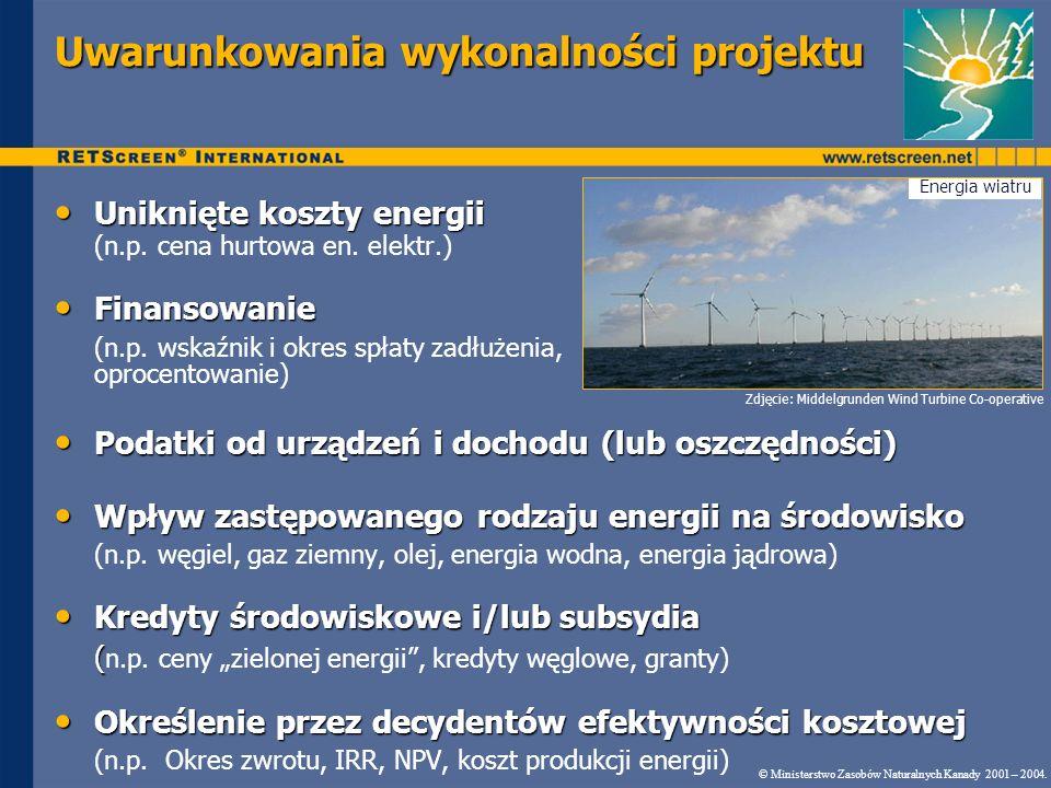 Uniknięte koszty energii Uniknięte koszty energii (n.p.