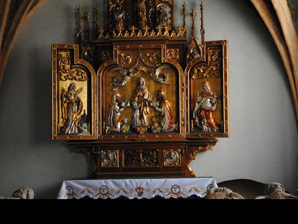 W kościele franciszkanów pw.
