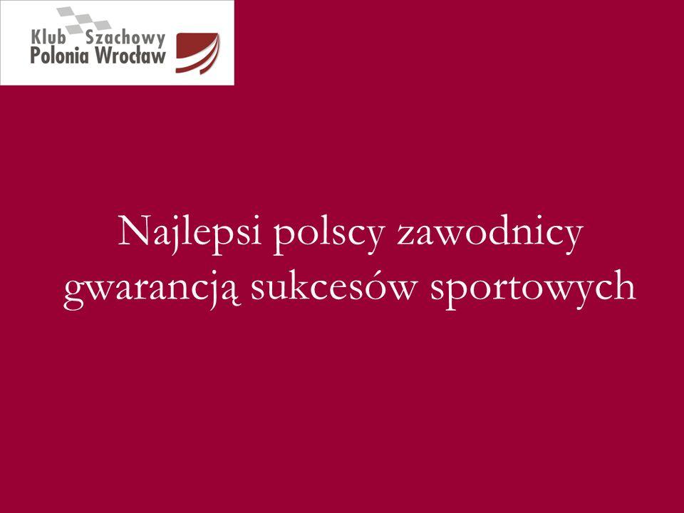 Najlepsi polscy zawodnicy gwarancją sukcesów sportowych