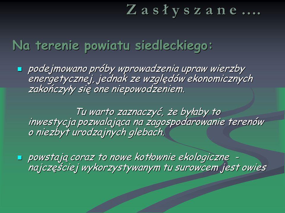 Z a s ł y s z a n e ….