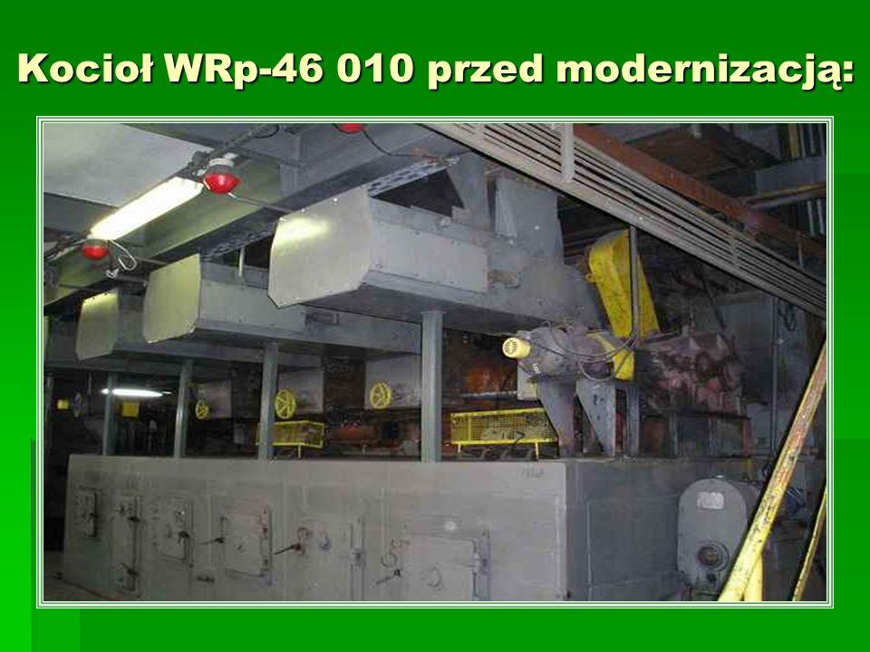 Kocioł WRp-46 010 przed modernizacją: