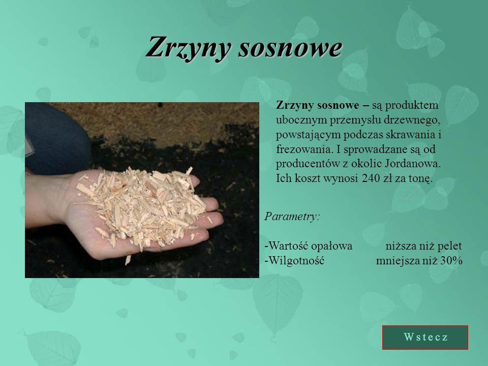 Zrzyny sosnowe Zrzyny sosnowe – są produktem ubocznym przemysłu drzewnego, powstającym podczas skrawania i frezowania.