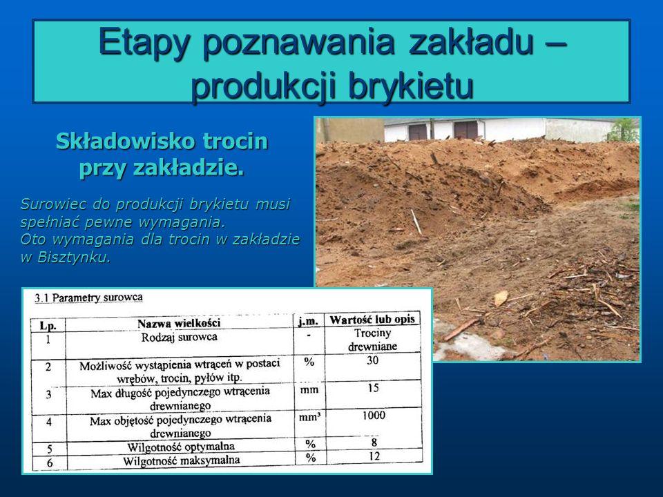 Naszą wycieczkę udokumentowaliśmy na filmach: Zakład produkcji opału EKOPOL II w Bisztynku (zobacz).zobacz Kotłownia we Fromborku (zobacz)zobacz Uczniowie opracowali sprawozdania z wycieczki i poszerzyli swoje wiadomości na temat odnawialnych źródeł energii.