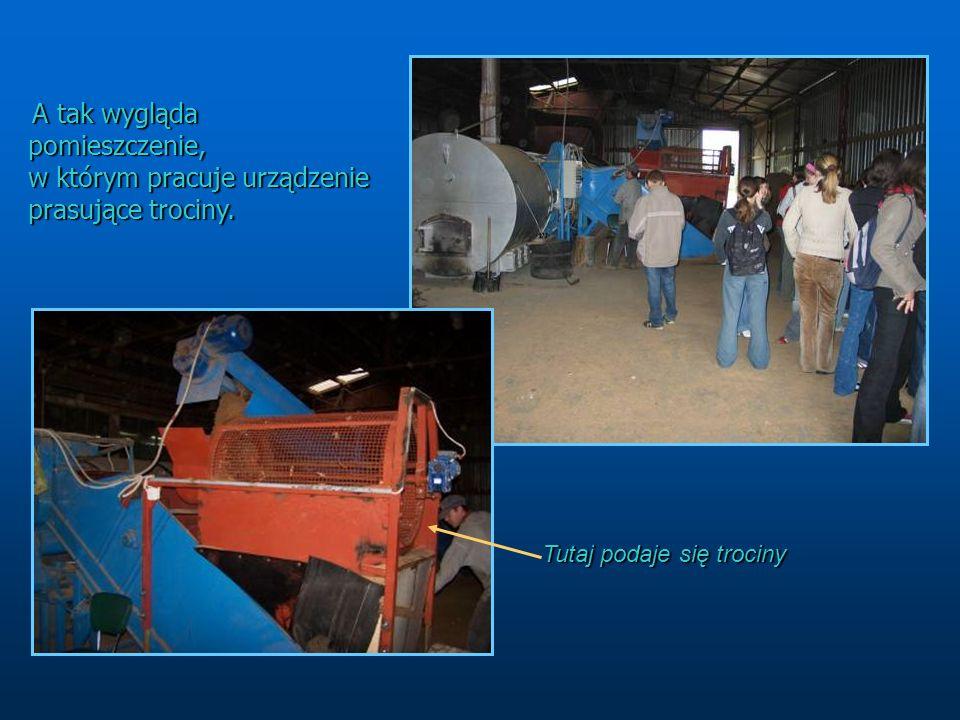 Produkcja brykietu w brykieciarce