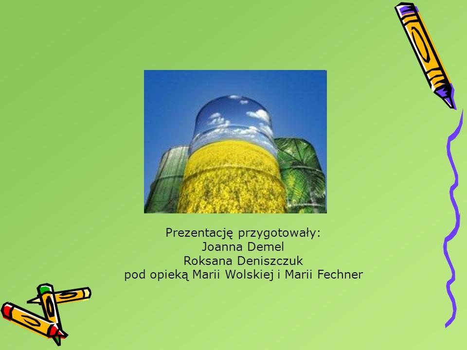Prezentację przygotowały: Joanna Demel Roksana Deniszczuk pod opieką Marii Wolskiej i Marii Fechner