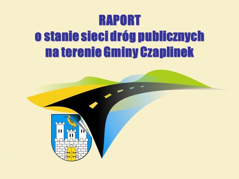 RAPORT o stanie sieci dróg publicznych na terenie Gminy Czaplinek