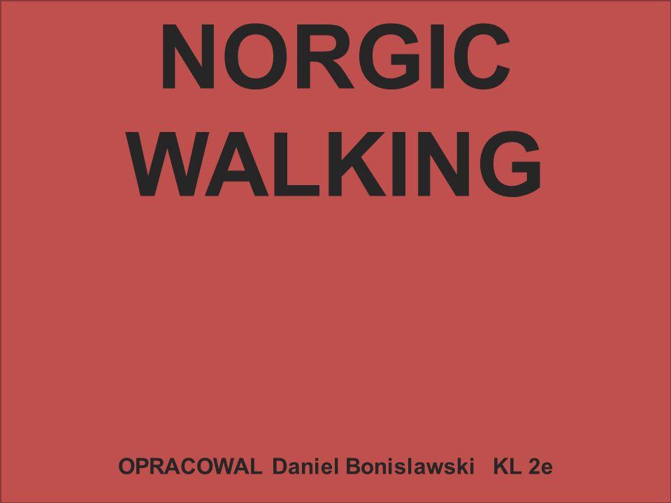 NORGIC WALKING OPRACOWAL Daniel Bonislawski KL 2e