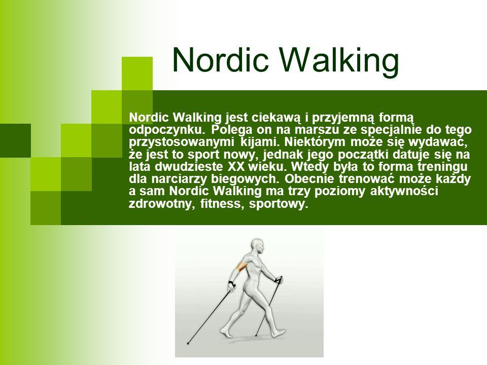 Co daje nam Nordic Walking.