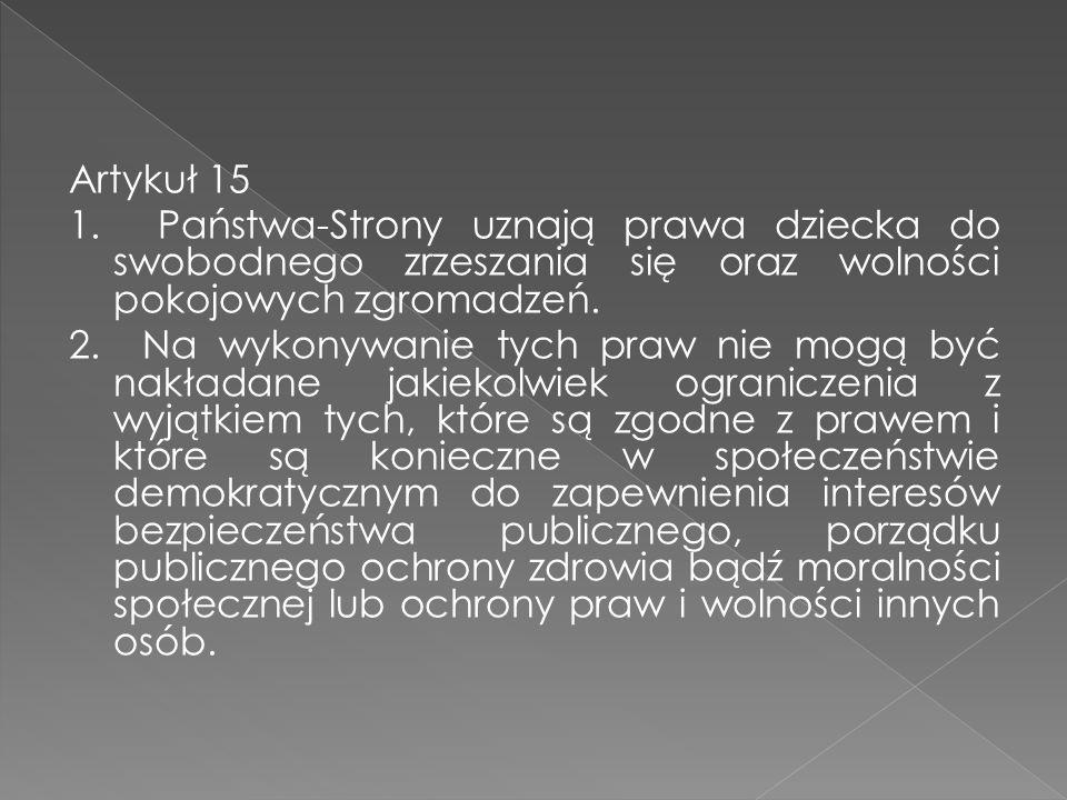 Artykuł 15 1.