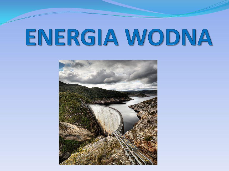 Energia wody to powszechnie wykorzystywane odnawialne źródło energii.