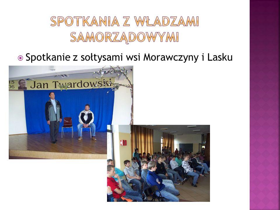 Spotkanie z sołtysami wsi Morawczyny i Lasku