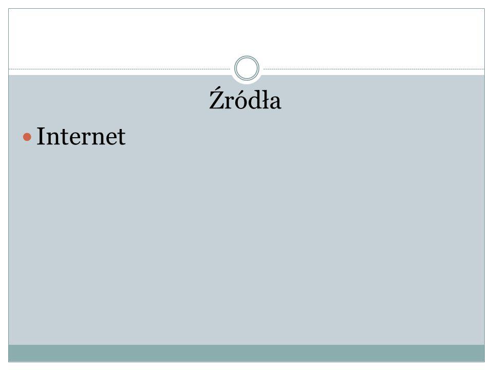 Źródła Internet