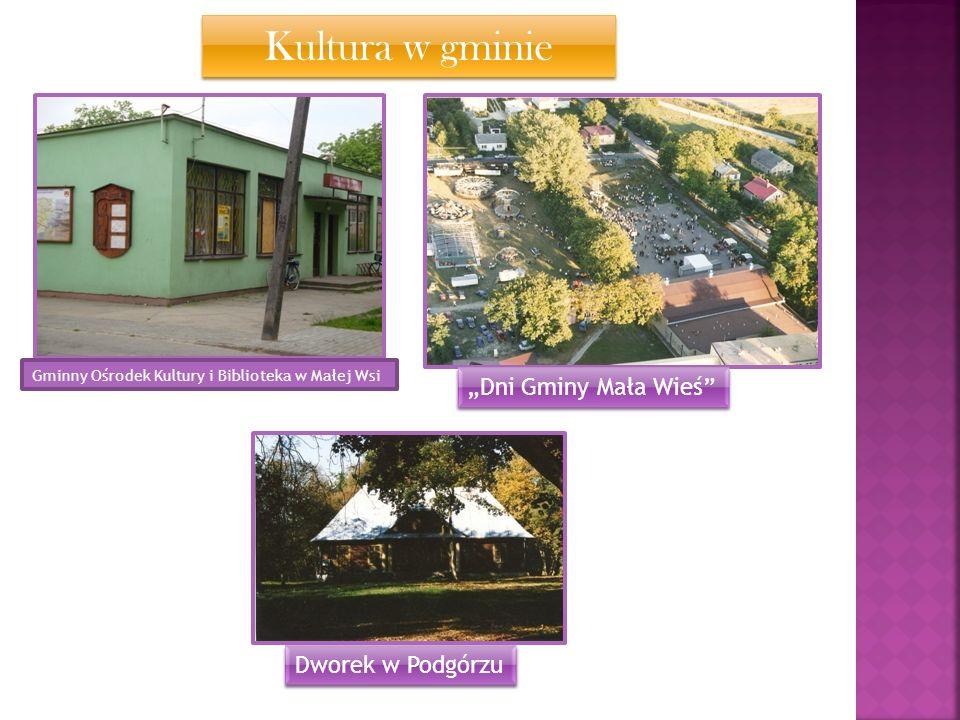 Kultura w gminie Gminny Ośrodek Kultury i Biblioteka w Małej Wsi Dni Gminy Mała Wieś Dworek w Podgórzu