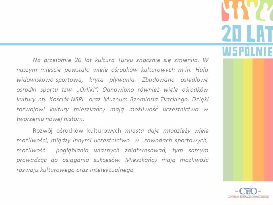 Wywiad z wiceburmistrzem miasta Turek Mirosławem Mękarskim.
