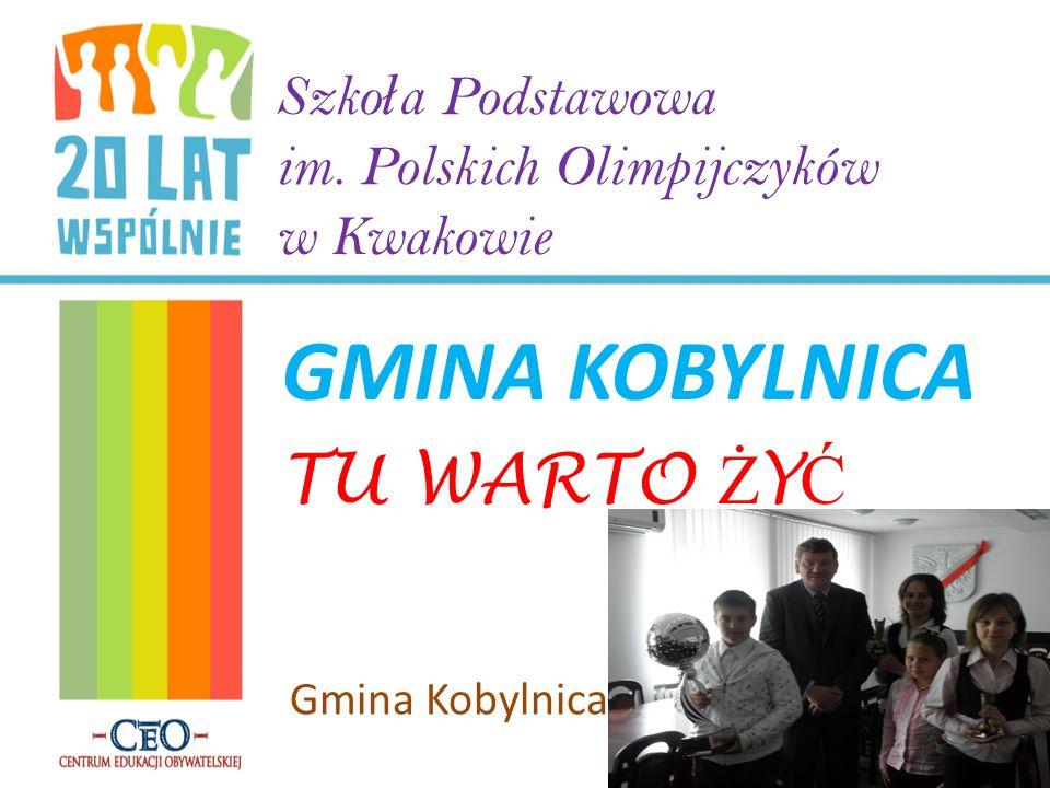 NASZA GMINA Gmina Kobylnica położona jest w północno – zachodniej części województwa pomorskiego.
