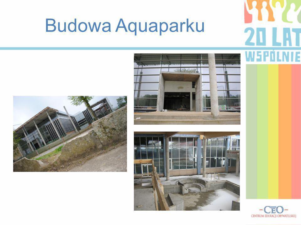 Budowa Aquaparku