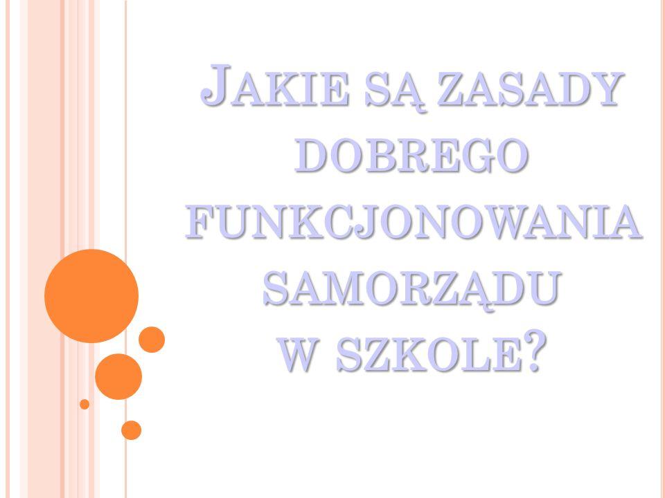 Uczniowie Publicznego Gimnazjum nr 7 w Białymstoku zaangażowani w projekt z przedmiotu Wiedza o Społeczeństwie zorganizowali debatę na temat: Jakie są zasady dobrego funkcjonowania samorządu w szkole?.