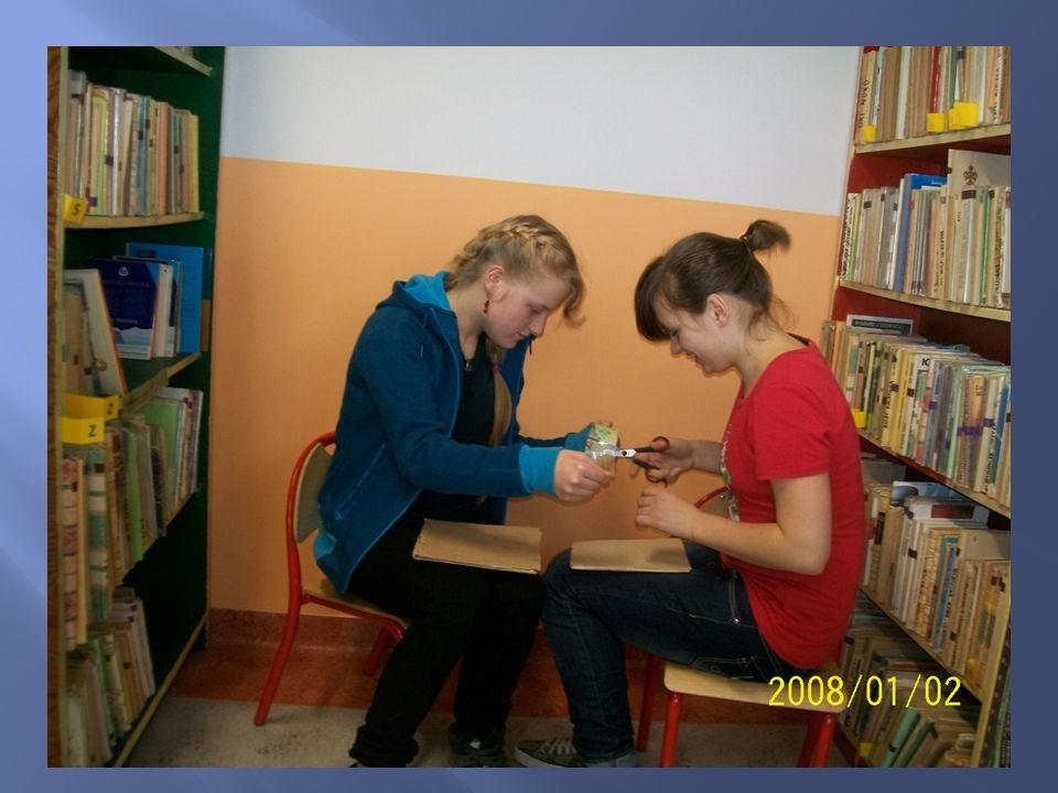 Zorganizowałyśmy spotkanie z najmłodszymi uczniami naszej szkoły.