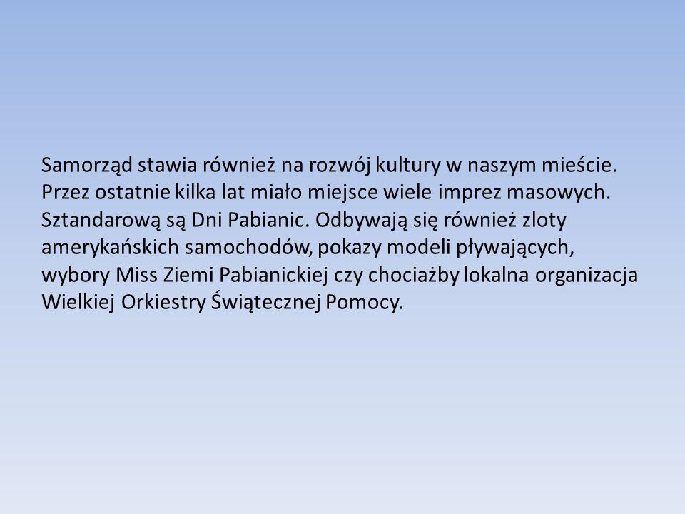 Samorząd stawia również na rozwój kultury w naszym mieście.