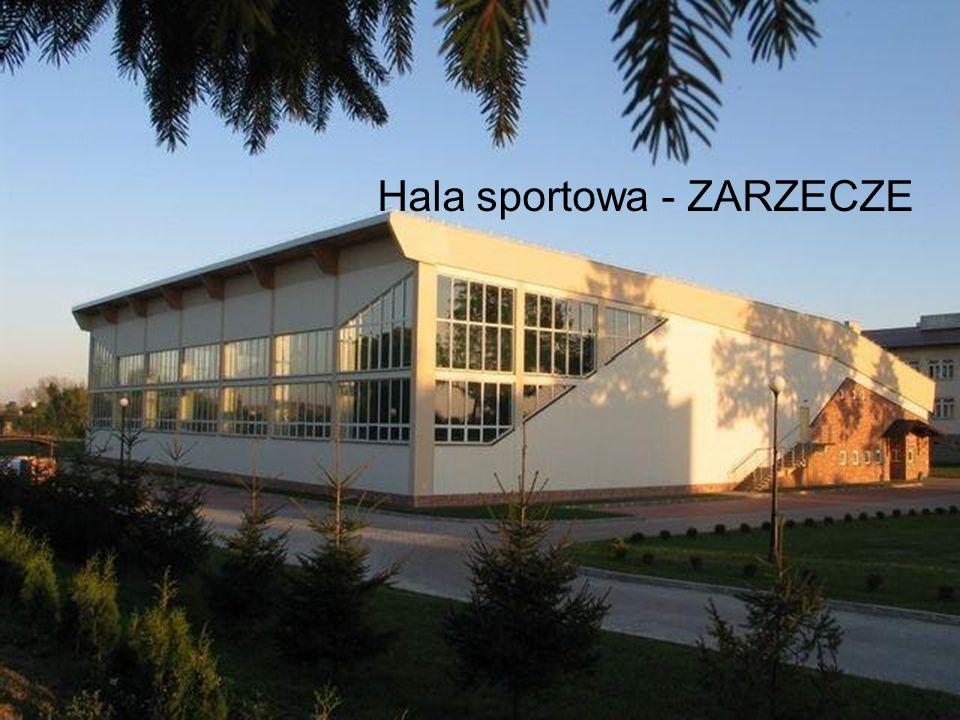 Hala sportowa - ZARZECZE