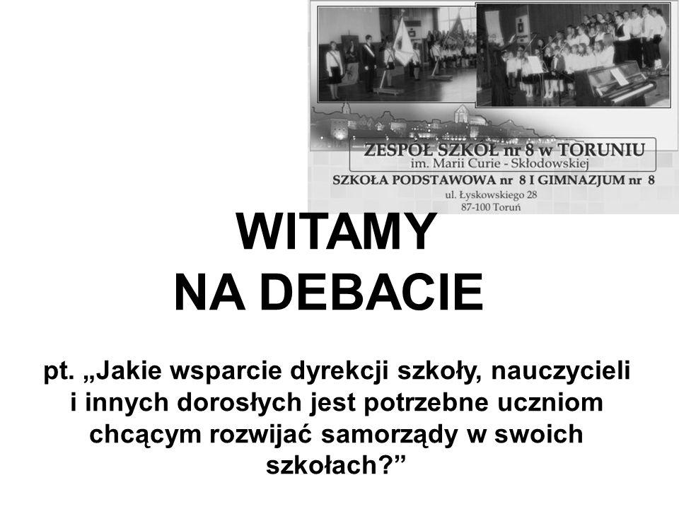 Podstawy prawne działalności samorządu uczniowskiego: Karta Nauczyciela z dnia 26 stycznia 1982r.