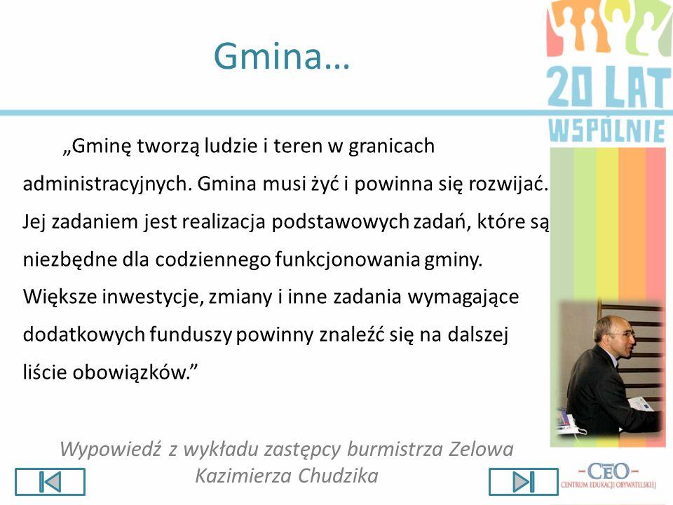 Obowiązki gminy Do obowiązków gminy należy m.in.