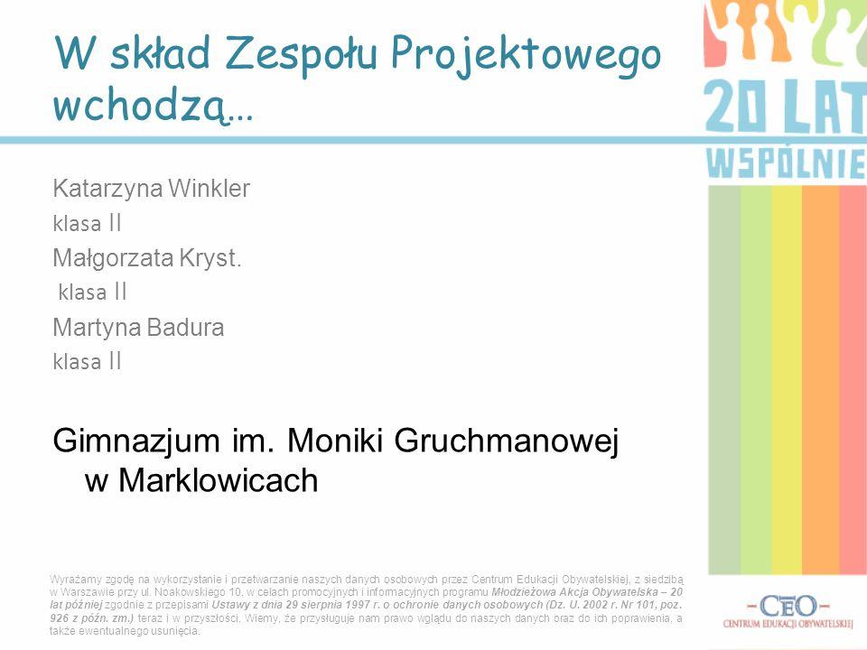 Co sądzą ludzie z Marklowic o swojej miejscowości….