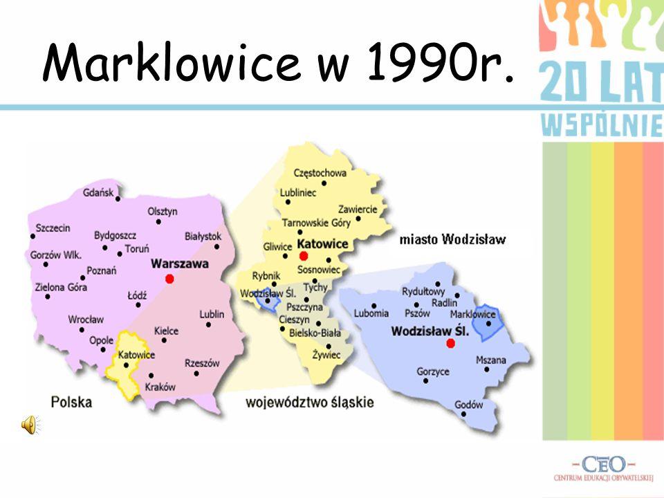 Marklowice w 1990r.