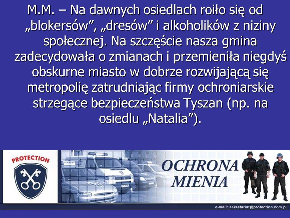 Według Pana Janusza Kokoskiego nasze osiedla były lepsze 20 lat temu niż teraz.