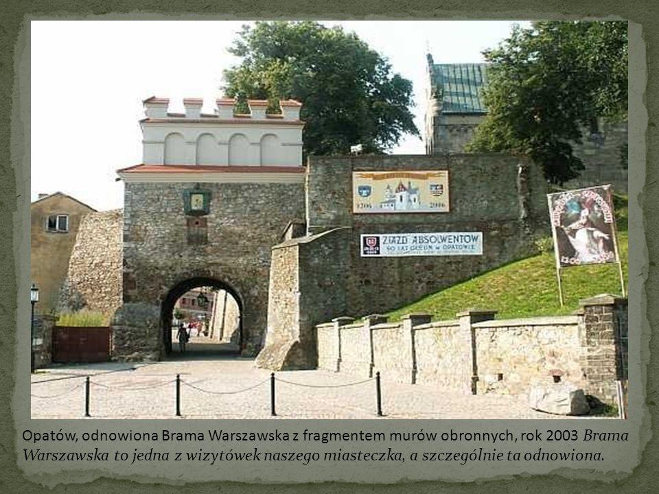 Opatów, Cmentarz żołnierzy polskich, rok 2005 Cmentarz żołnierzy polskich to szczególne dla nas miejsce.