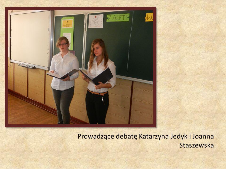 Prowadzące debatę Katarzyna Jedyk i Joanna Staszewska