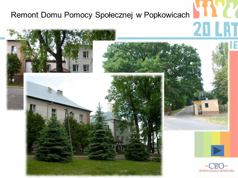 Służba zdrowia Generalny remont ośrodka zdrowia w Popkowicach Ponadto w gminie corocznie odbywa się Tydzień Kultury Zdrowotnej, kiedy to nasi mieszkań