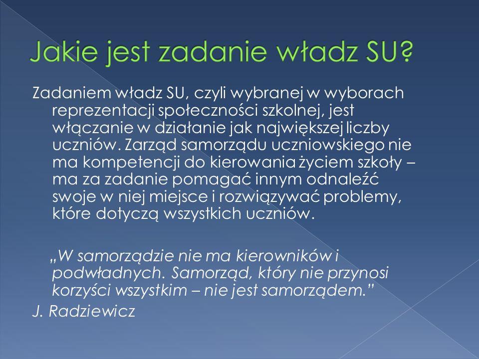 W każdej szkole w Polsce działa samorząd, tworzony przez wszystkich uczniów szkoły – to wymóg art.