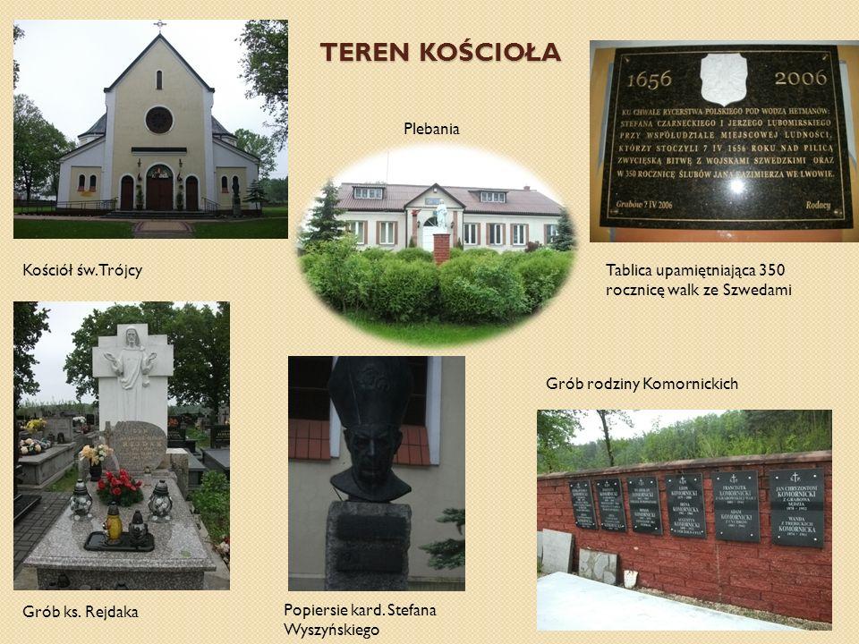 TEREN KOŚCIOŁA Plebania Kościół św.