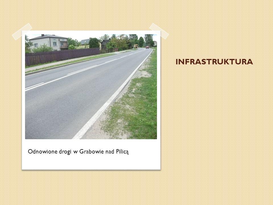 INFRASTRUKTURA Odnowione drogi w Grabowie nad Pilicą