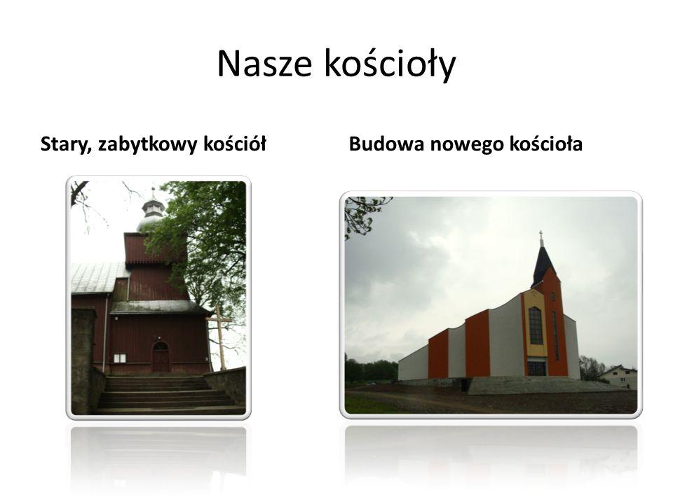 Nasze kościoły Stary, zabytkowy kościółBudowa nowego kościoła