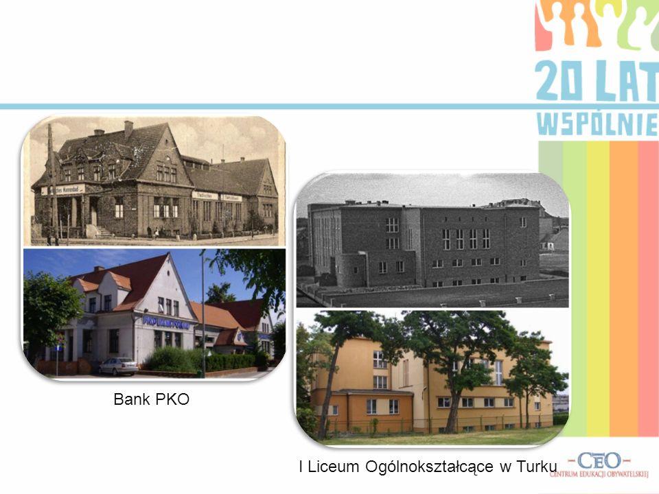 Bank PKO I Liceum Ogólnokształcące w Turku