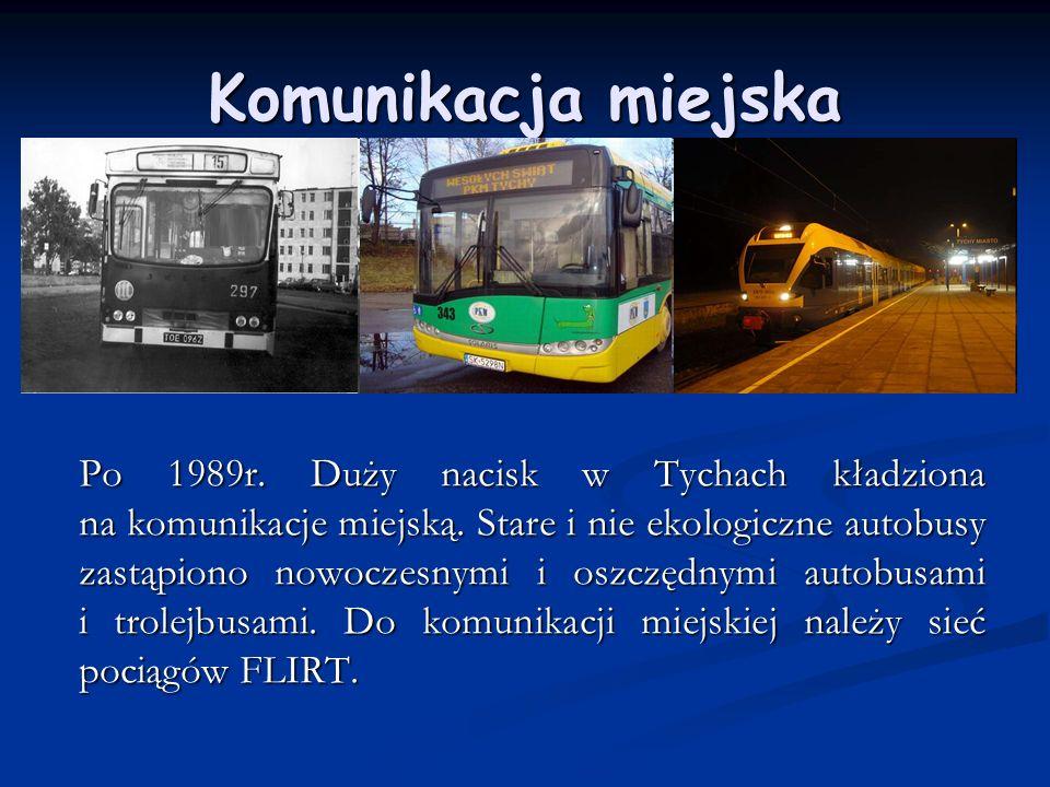 Ośrodki rekreacyjne W okresie samorządności Tychów wyremontowano i wybudowano wiele obiektów sportowych np.