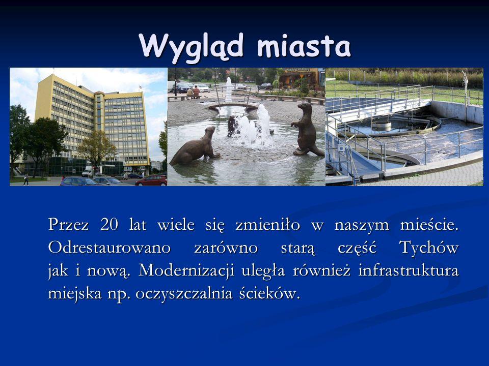 Odrestaurowanie zabytków W naszym mieście odrestaurowano wiele zabytków np.