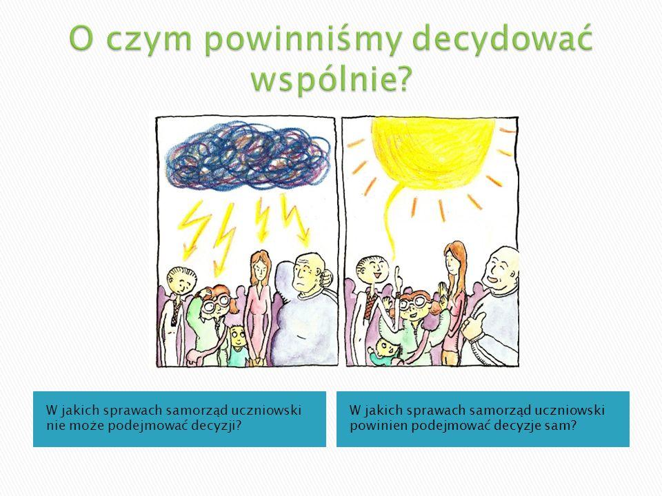 Kto tworzy samorząd uczniowski? W jaki sposób może być on zorganizowany?