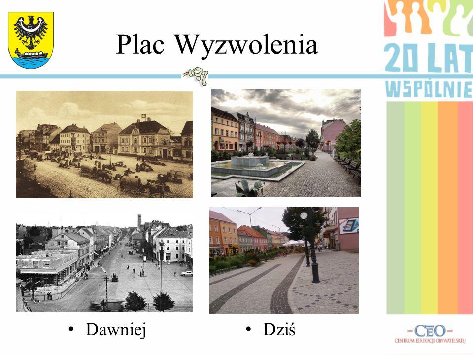ul. J.Piłsudskiego Dawniej Dziś