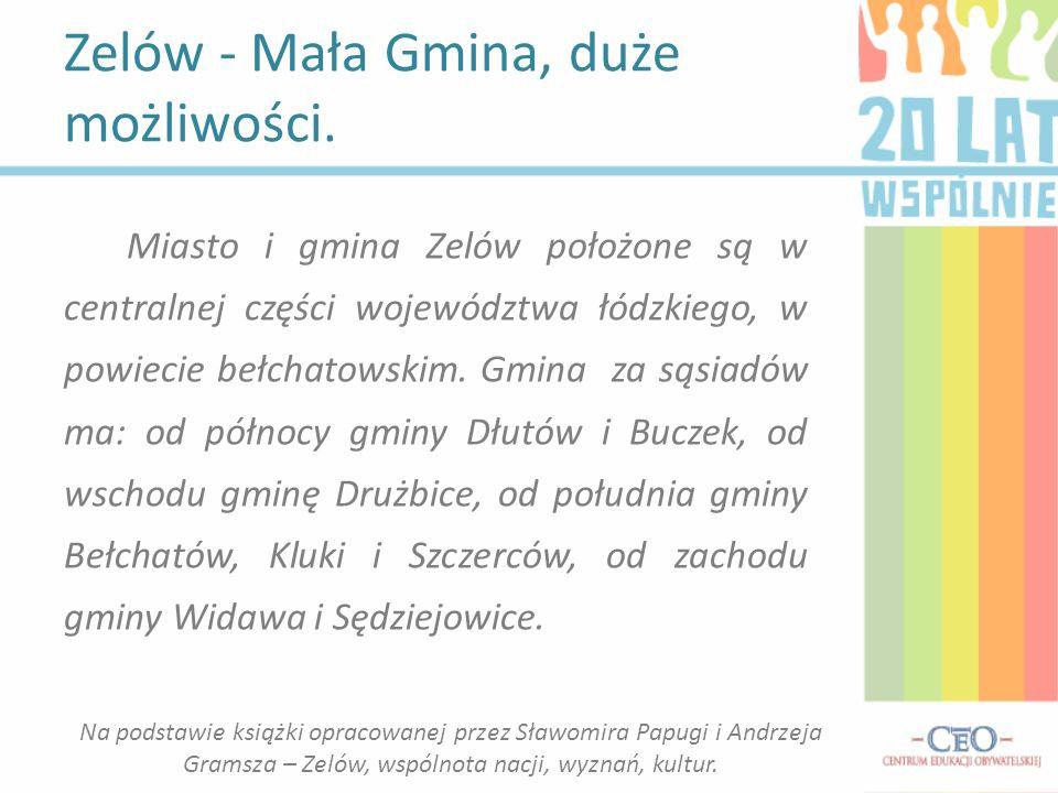 Miasto i gmina Zelów położone są w centralnej części województwa łódzkiego, w powiecie bełchatowskim.