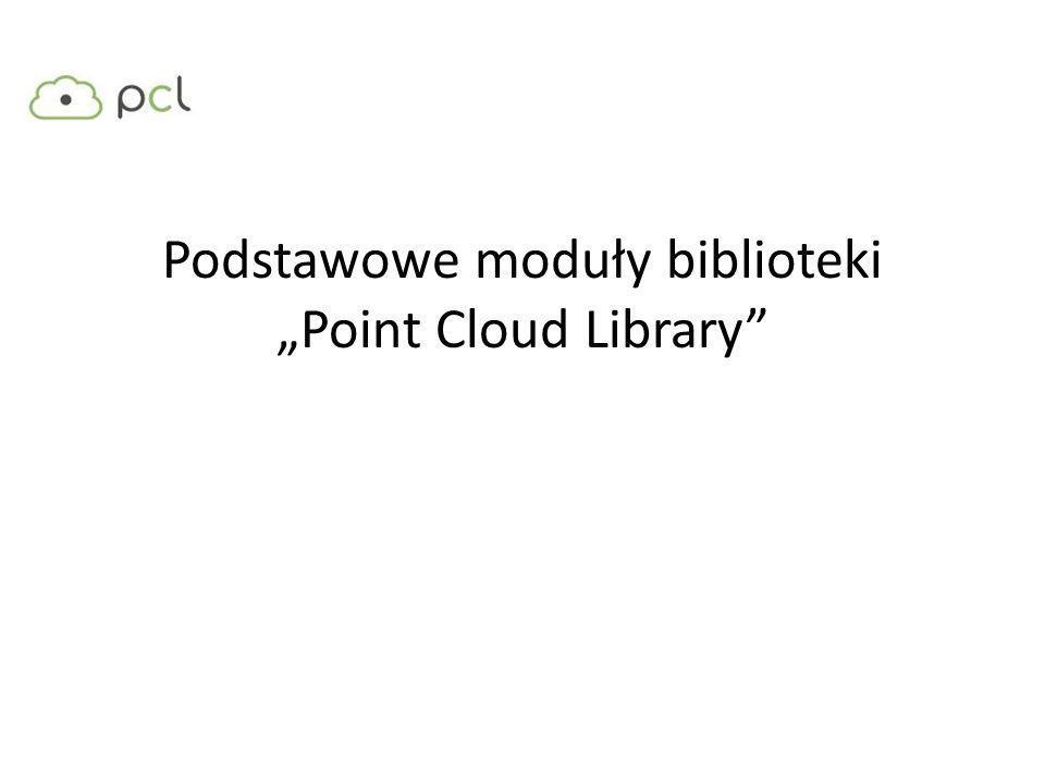 Moduły biblioteki PCL: Mamy biblioteki 1-6: