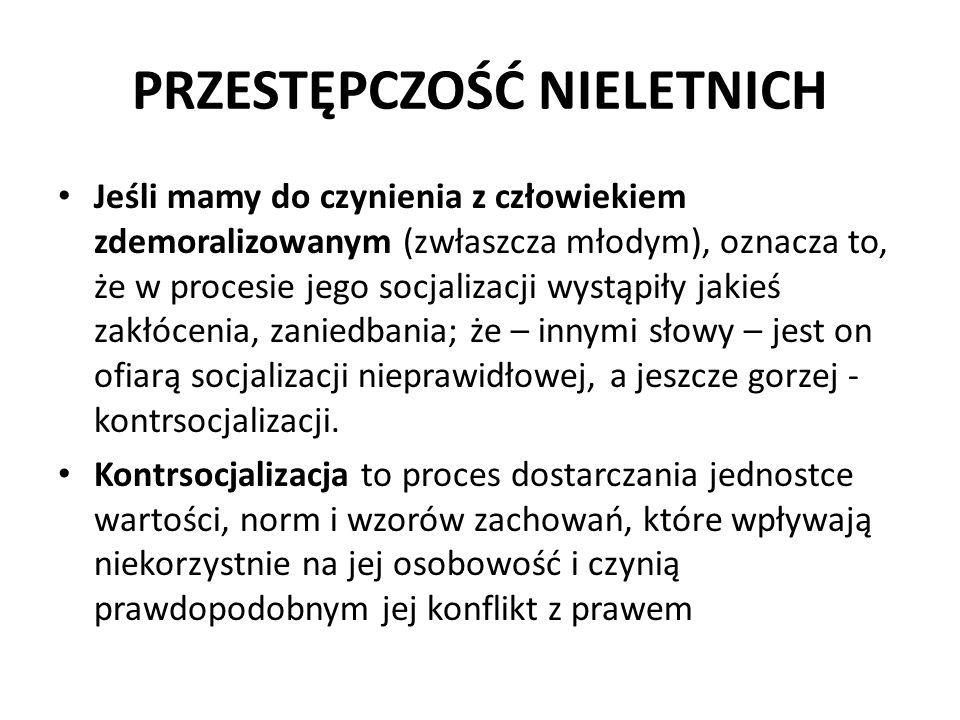 PRZESTĘPCZOŚĆ NIELETNICH 4.