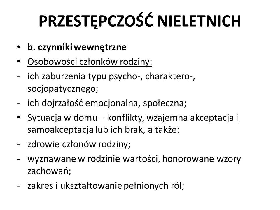 PRZESTĘPCZOŚĆ NIELETNICH 5.