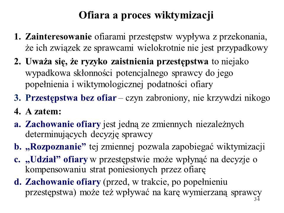 Typy ofiar Ofiara potencjalna (Hans von Hentig), Urodzona ofiara (Henri Ellenberg, Ezzal Fattah, Leszek Lernell) - ze wzgl.