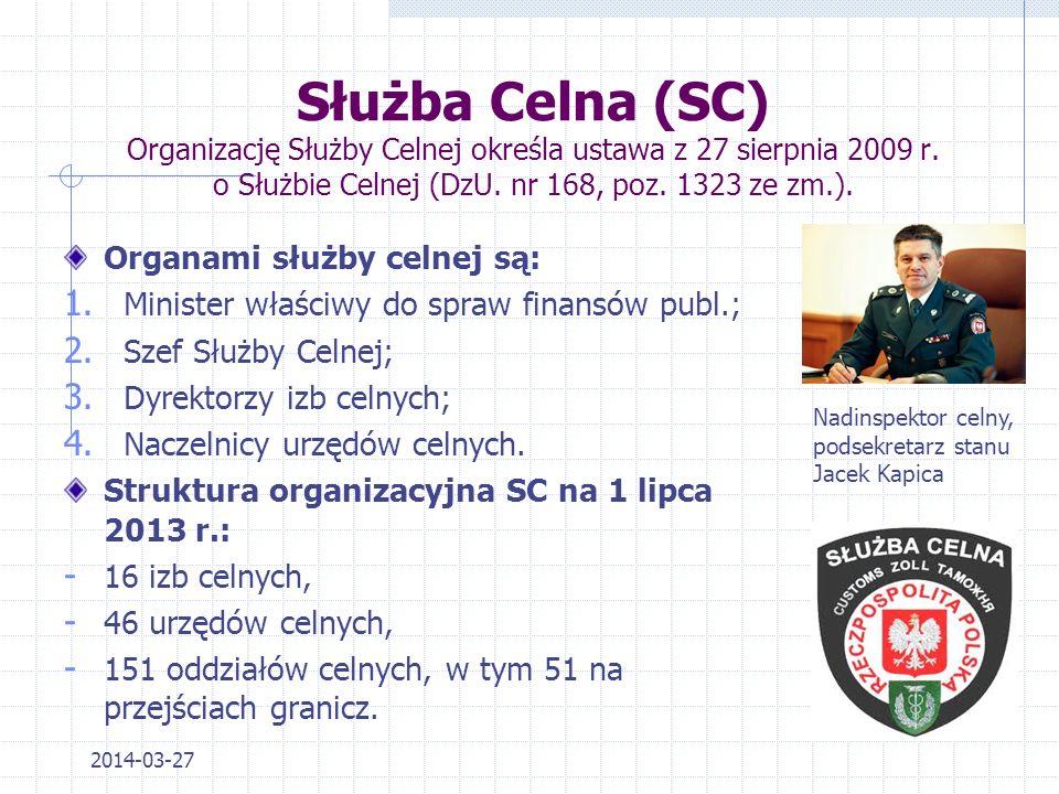 2014-03-27 Dyrektor Urzędu Kontroli Skarbowej kieruje pracą urzędu kontroli skarbowej, a w szczególności: 1)organizuje pracę urzędu kontroli skarbowej