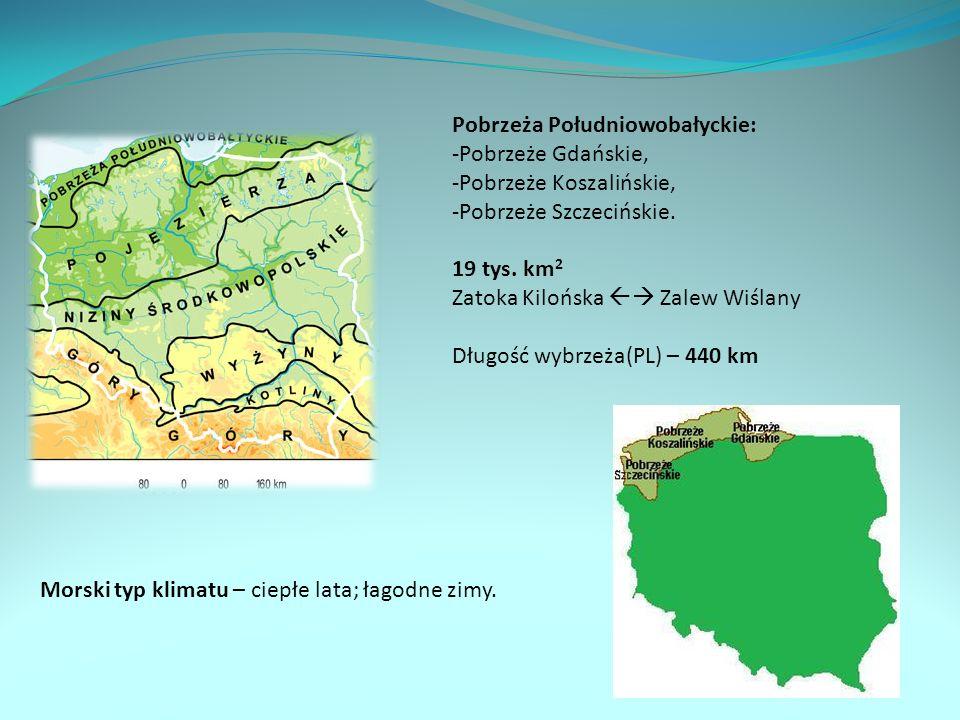 Nadmorski krajobraz regionu Pobrzeży Południowobałtyckich.