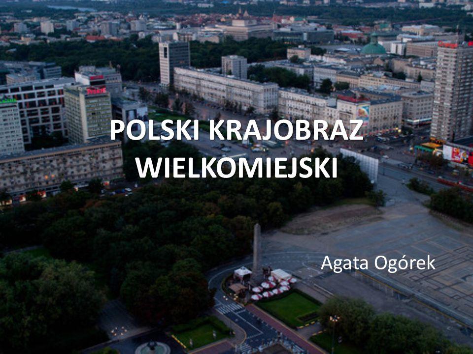 POLSKI KRAJOBRAZ WIELKOMIEJSKI Agata Ogórek